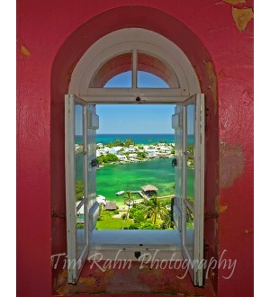Looking Out Hopetown Light